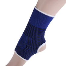 Free Shipping 2 X Elastic Ankle Brace Support Band Sports Gym Protects Therapy Dropshipping  E5M1(China (Mainland))