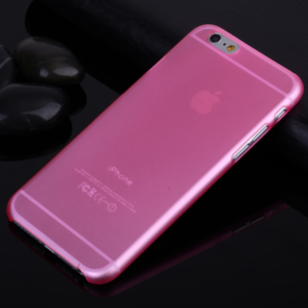 cell phone case iphone 6 4.7 inch phone6 iphone6 plus 5.5 slim matte transparent pc luxury hard back cover - Shenzhen YD Phone Bags & Cases store