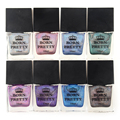 1 Bottle 8ml Candy Color Luminous Nail Polish Fluorescent Light Glow in Dark Nail Art For Beauty Manicure Nail Art Varnish