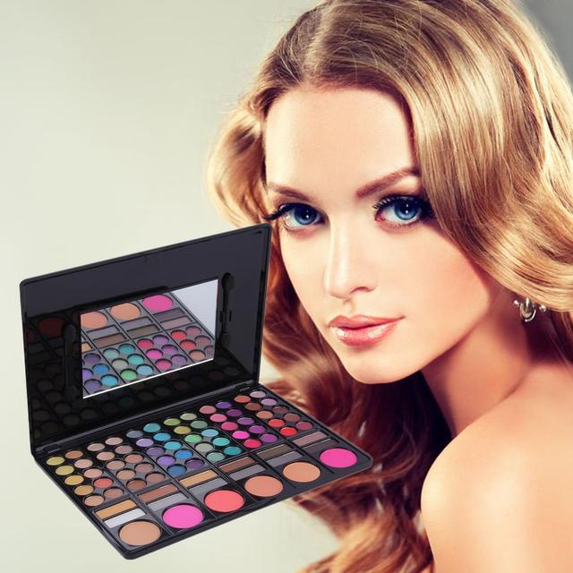 Профессиональный 78 цвет чик румяна для губ палитры макияжа горячая распродажа макияж комплект