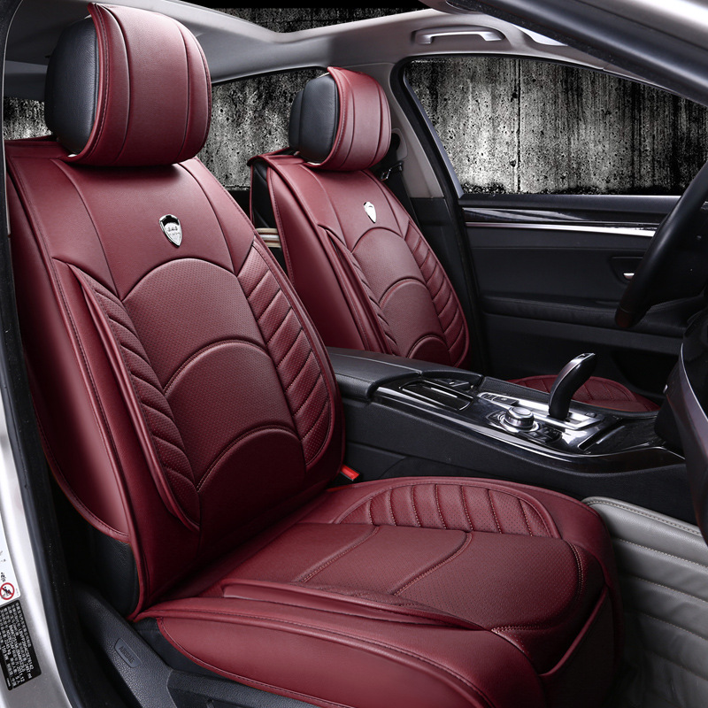 universal leather car seat covers for car seats in leather car covers luxury car seat covers. Black Bedroom Furniture Sets. Home Design Ideas