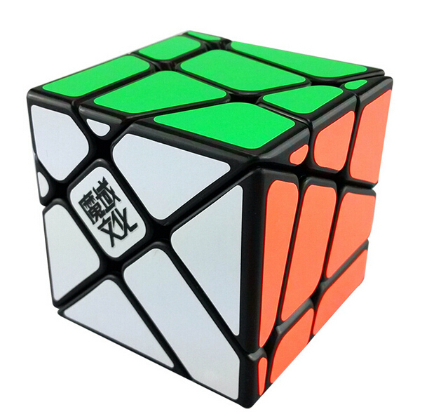Free Shipping MoYu Crazy Fisher Cube Puzzle Toy Black Color(China (Mainland))