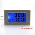 DC 0 600V 10A Volt amp gauge meter LCD display digital Voltmeter Ammeter Power supply DC