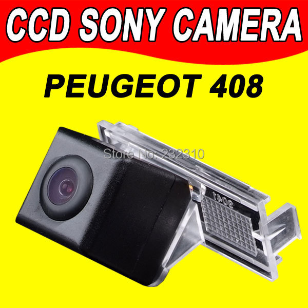 10x For Sony CCD Car rear back parking camera for Peugeot 408 307 CC 307 hatchback waterproof high-solution PAL( Optional)(China (Mainland))