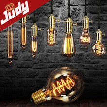 ST64 T10 G95 G80 Vintage edison retro lighting 40W E27 Bulbs incandescent Silk Light bulb  Retro lights(China (Mainland))