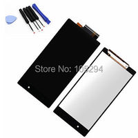 Black For Sony Xperia Z1 L39H L39 LCD display touch screen with digitizer assembly free tools ,free shipping!!