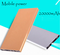 30000mah Power Bank external battery pack 3 USB charger Portable metal charger Universal mobile power for all phone powerbank