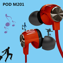 2015 Phrodi POD M201 Over-ear Gamer Earphone Headband Gaming Headphone Sport Headphone with Mic Stereo Bass for PC Gamers