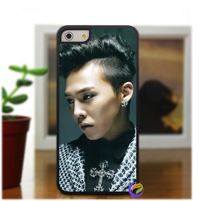 BigBang G-Dragon fashion original phone cell case cover for iphone 5 5S 4 4S 5C for 6 & 6plus #1637do(China (Mainland))