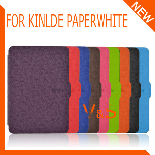 Ultra-slim Magnet PU Leather Paperwhite Case pouch cover Kindle 9 color - China Super Market store