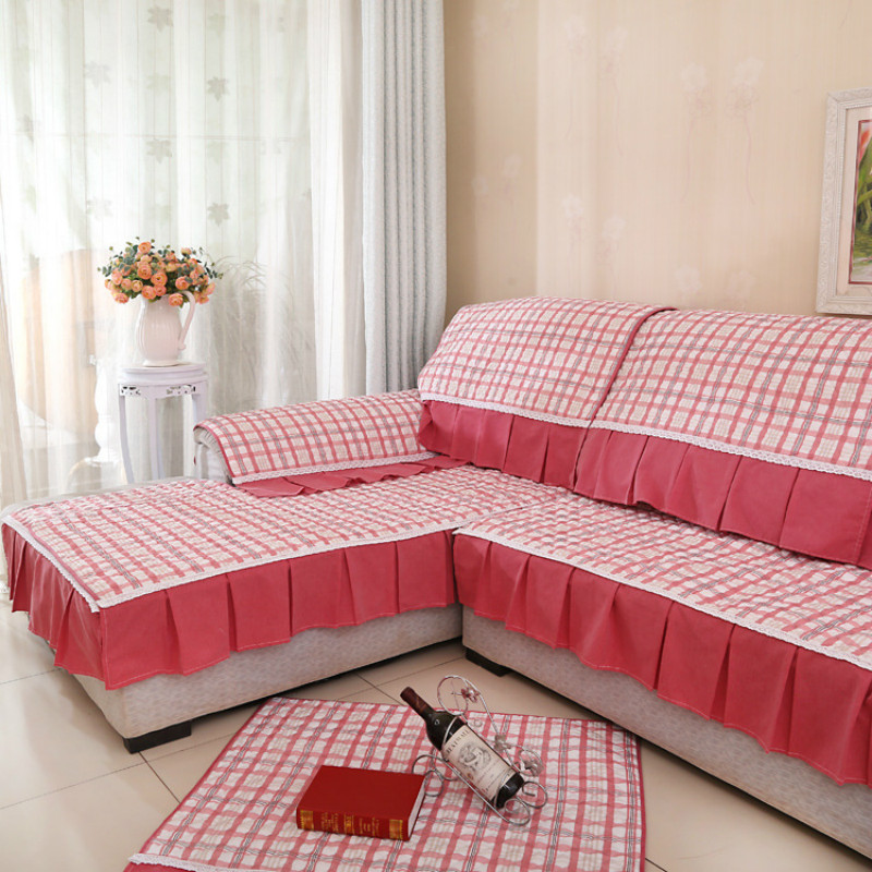 Cotton sofa stripe slipcover fabric cover sofa sectional for Where to buy a quality sofa