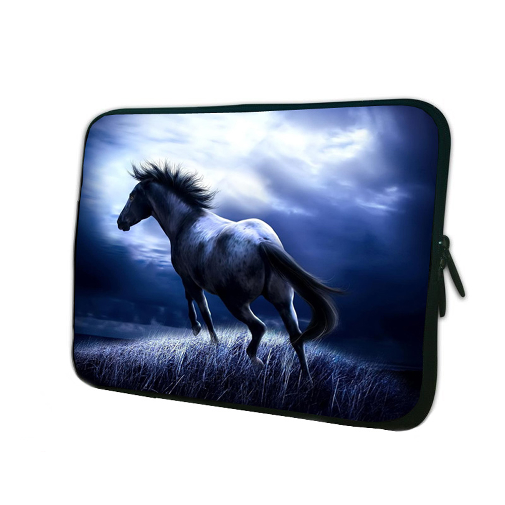 """Horse 15"""" Notebook Computer Zipper Soft Fashion Inner Pouch Bags For HP Dell Acer ASUS Laptop 15.4"""" 15.6"""" 15.5"""" Mini Computer PC(China (Mainland))"""