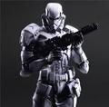 Play Arts Kai Stormtrooper Star War Imperial Darth Maul Black Knight Darth Vader 26cm PVC Action