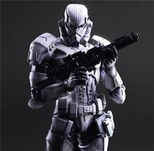 Play Arts Kai Stormtrooper Star War Imperial Darth Maul Black Knight Darth Vader 26cm PVC Action Figure Doll Toys Kids Gift