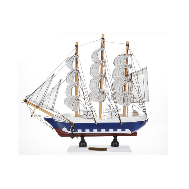 Online kopen wholesale houten speelgoed zeilboot uit china for Decoratie zeilboot