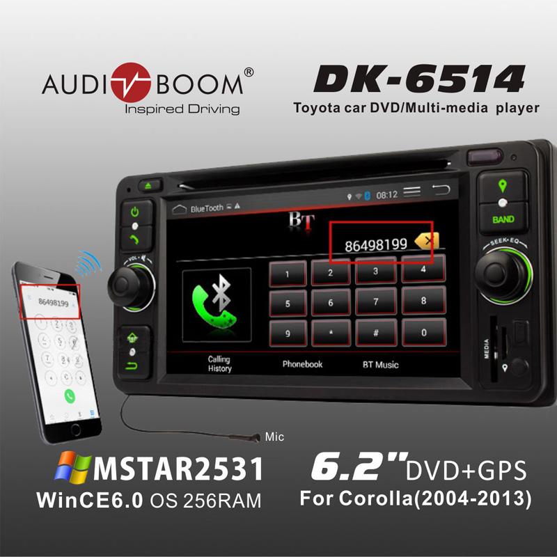 Dash car radio Stereo dvd cd player for Toyota RAV4 (2001-2005) perodua Nautica(2006-2012) daihatsu Terios wild(2006-2012)(China (Mainland))