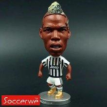 "Soccer 10# POGBA (JUV) 2.5"" Toy Doll Figure Shipping Free(China (Mainland))"