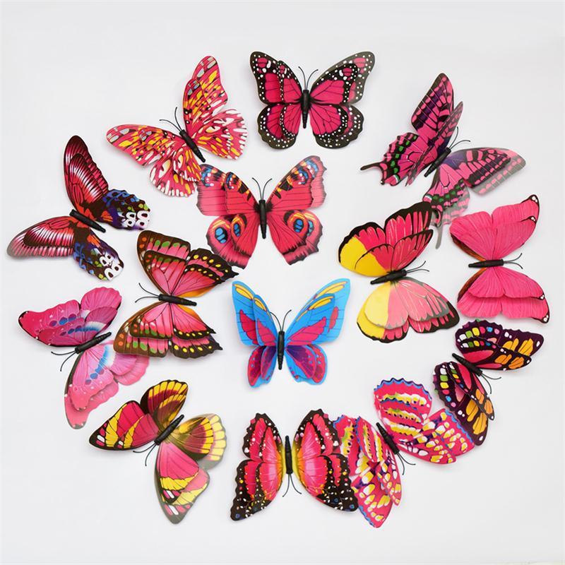 Buy Double Wings 3d Butterfly Wall