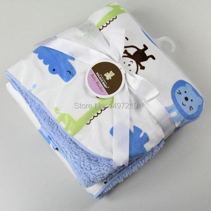 Коралловый флис спальный одеяло для ребенка мягкой на ощупь и теплый ph086