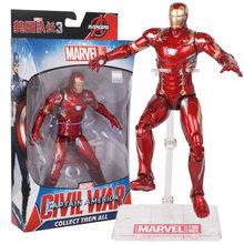 Original Marvel Avengers 4 Endgame Modelos Figura PVC 18/30 centímetros Anime Avengers Ironman Spiderman Hulk Bonecas Coletar Miúdo brinquedo de Presente(China)