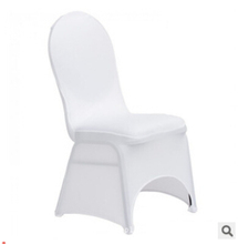 1LOT/100 PCS Universal Stretch Polyester Spandex Wedding Party Chair Covers for Weddings Banquet Hotel Decoration Decor(China (Mainland))