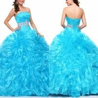 Пышное платье Sarahbridal Quinceanera 2015 vestidos Quinceaneras QD030