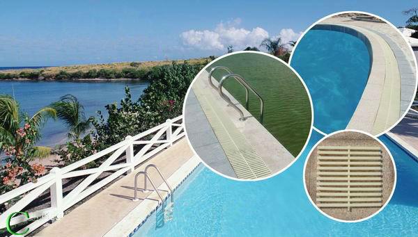 20meter lot swimming pool water grill grid drain cover - Length of swimming pool in meters ...
