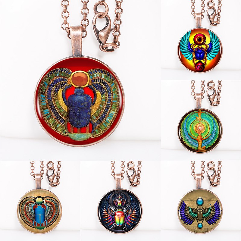 symbol of strength egyptian scarab necklace ancient egypt