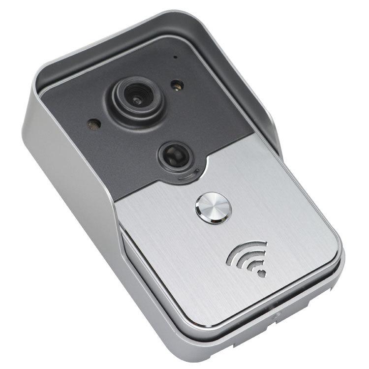 2015 New Wireless Door Peephole Video Doorphone WiFi Doorbell For Remotely Door Access Control(China (Mainland))