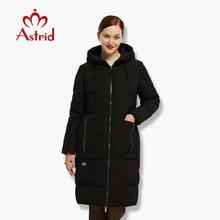 Новинка большой Размеры зима Для женщин куртка теплая пуховая куртка Для женщин большой Парки новая зимняя хлопковая(China)