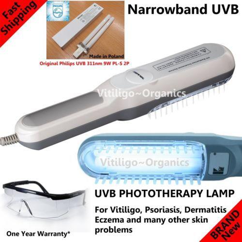 Lampe UVB 311 nm pour Psoriasis et Vitiligo 1