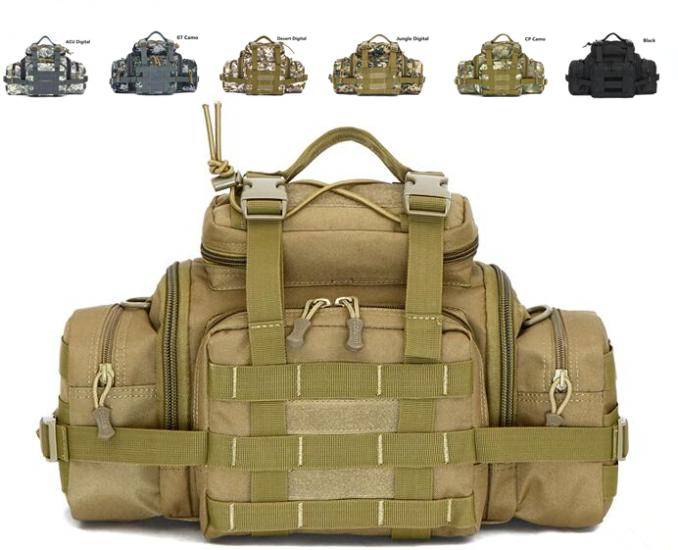 Multifunctional Waterproof Shoulder Messenger Hunting Camouflage Travel Military Tactical Molle Army Gear Camera Bags Men&Women(China (Mainland))