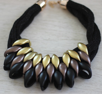 Spring New Nice Jewelry Brand European Pop CCB Hand-woven Statement Necklace 2015 Chokers Necklaces & Pendants Price  -  Olaru Store store