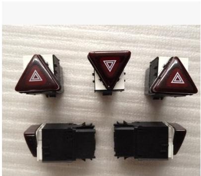 5  Pieces  OEM Red Hazard Warning Flash Switch Button For VW Jetta Golf MK5 GTI Rabbit 18G 953 509 18G953509<br><br>Aliexpress