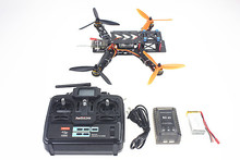 F11858-B 250 PRO Carbon Fiber Mini H FPV Quadcopter RTF Full Kit with Radiolink T6EHP-E TX&RX Battery Charger(China (Mainland))