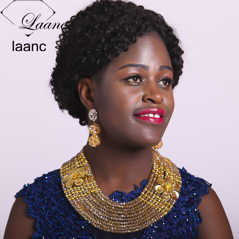 Laanc African Style Beads  Jewelry Set (71)