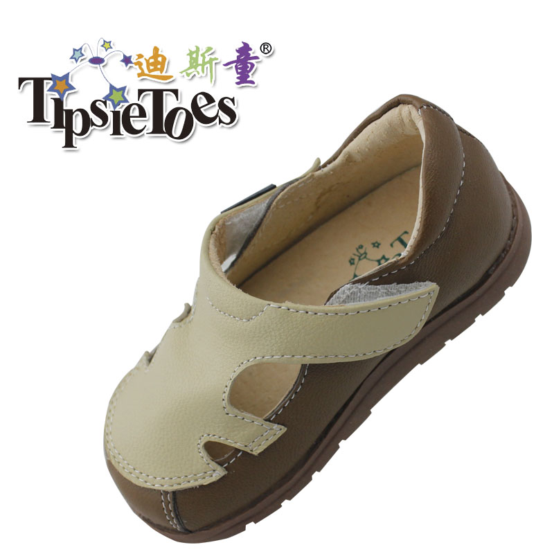 TipsieToes Sheepskin Leather Kids Children Sandals Shoes Boys Girls Tenis Infantil New 2014 Summer Fashion A61003 - Mummy And Kid's Love Shoe store