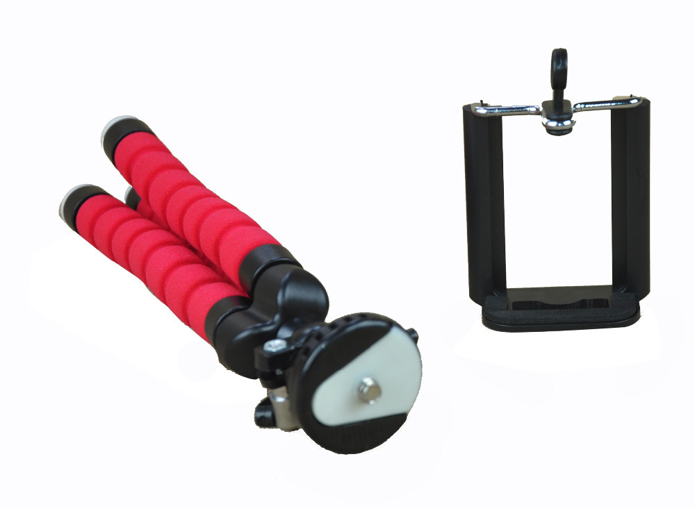 Mini Gorilla Pod Digital Camera stand with phone bracket Holder Flexible grip Octopus Bubble Pod Monopod for Camera Cell phones(China (Mainland))