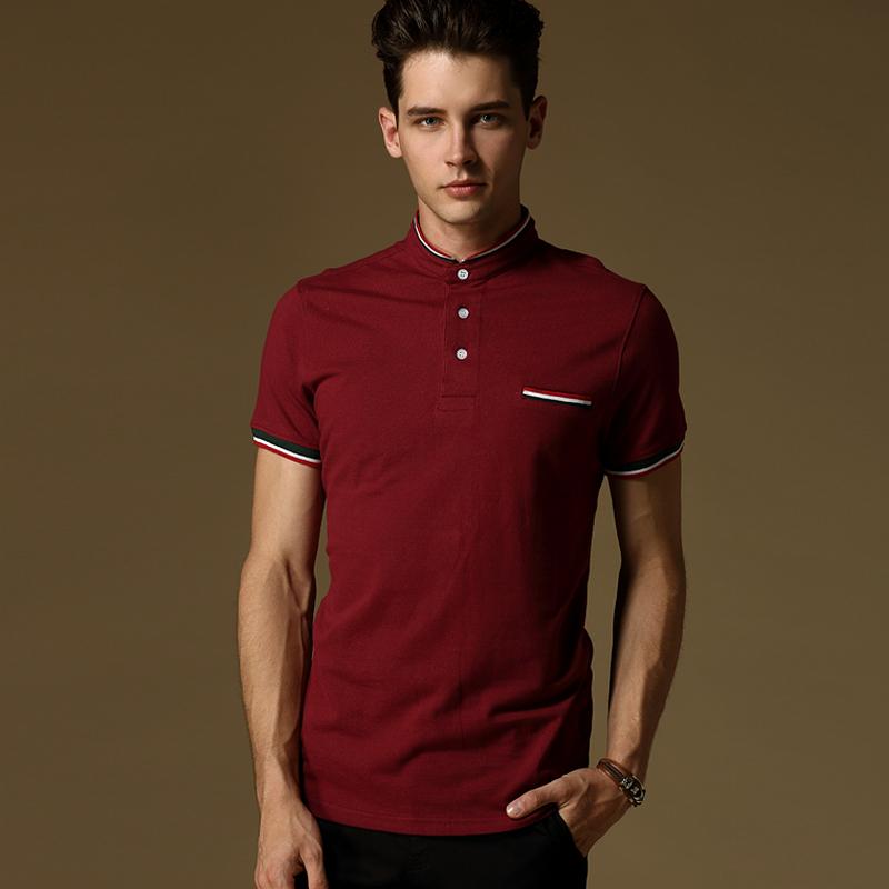 2016 new brand men 39 s polo shirt for men polos men cotton for Plus size golf polo shirts