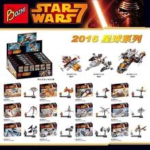 12pcs/sets Bozhi 98077 Star Wars Minifigures Combination Building Blocks Toys Gift Compatible With Lego starwars Mini Figures