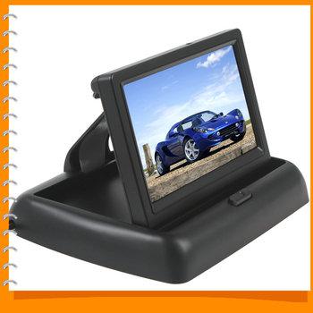 [ Продажа ] 4.3 дюймов цветной TFT LCD монитор вид сзади автомобиля 4.3 '' монитор заднего вида с канала видео вход / 960 H x 240 В разрешение