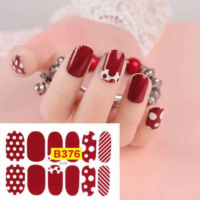 Hot Sale Diy Nail Art Stickers Decoration Decals Fashion Non Toxic