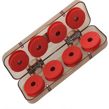 Hot Sale 8 pcs Fishing Spools Boxes Fishing Line Boxes Bobbin Spools Plastic Storage Box Case Fishing Tackle Boxes Fishing Tools