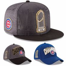Official 2016 World Series Champions Champs Chicago Cubs New Baseball Cap Hat Chicago Cubs Adjustable Unisex Cap Hot Sell(China (Mainland))