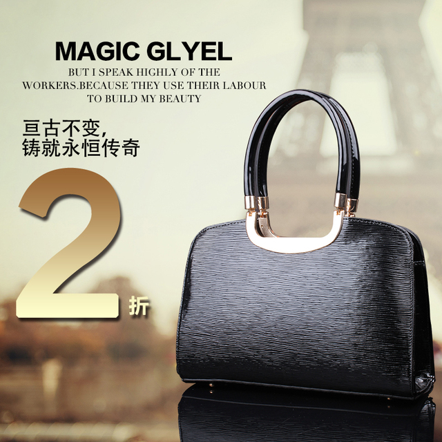 2012 autumn and winter fashion vintage fashion one shoulder toothpick street casual women's handbag y