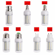New Dimmable LED Corn Bulb 4014 SMD 14W 18W 25W LED Spotlight E27 E26 E12 E14 B22 GU10 G9 110V 220V Warm/Cold White Led Lamps(China (Mainland))