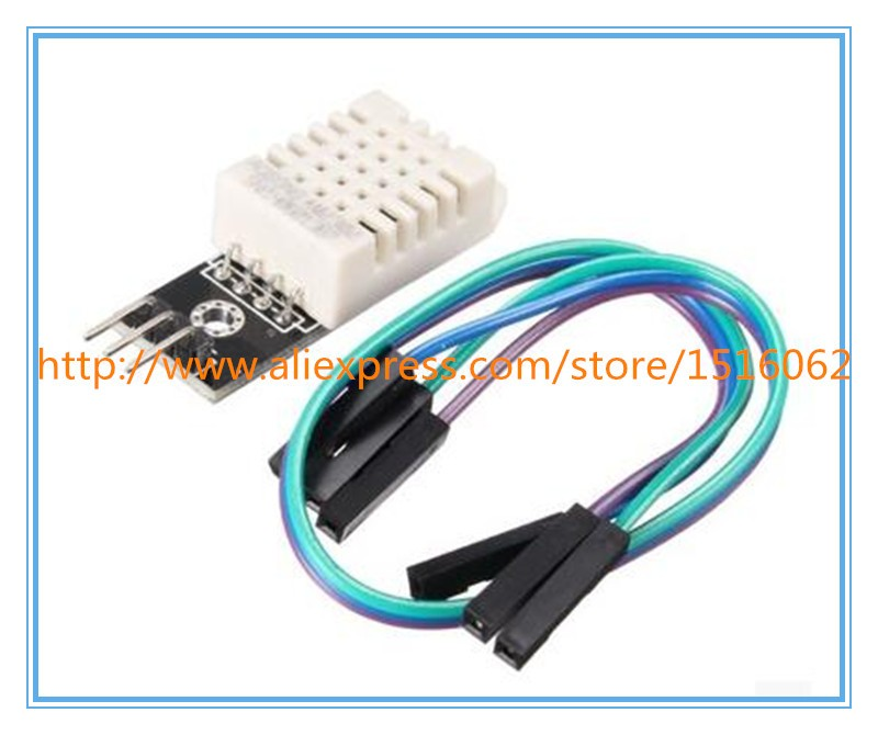 DHT22 Digital Temperature and Humidity Sensor AM2302 Module+PCB with Cable for Arduino Dropshipping