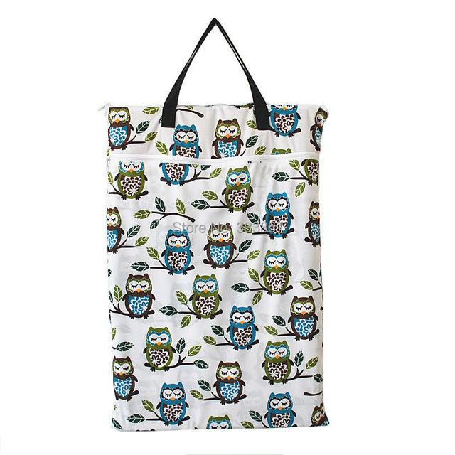 1 большой висит Wet / Dry ведро сумка для пеленок ткани, Вставки, Подгузник, Прачечная ...