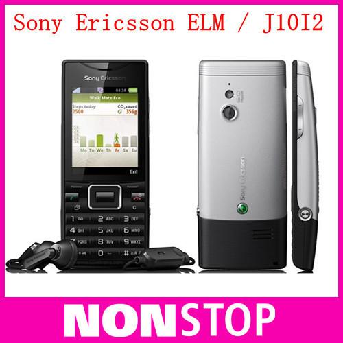Sony Ericsson J10i Elm Quad band original cell phones Sony Ericsson J10I2 3G (Unlocked) Cellular Phone,Wifi,mp3,Fashion phone(China (Mainland))