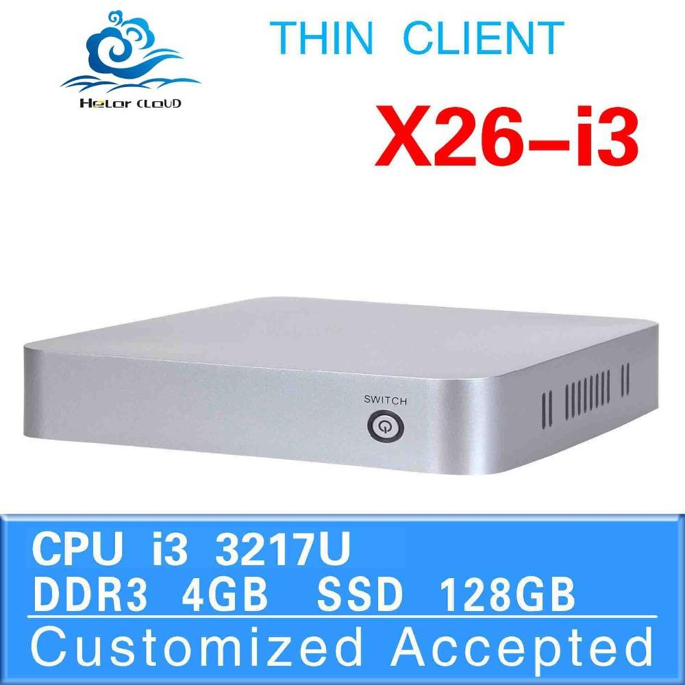 intel 3217u core dual industrial computer linux embedded deluxe pc 4gb ram 128gb ssd Ubuntu thin client mini pc(China (Mainland))